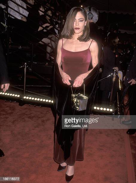 Actress Yancy Butler attends the 24th Annual People's Choice Awards on January 11 1998 at The Barker Hangar The Santa Monica Air Center in Santa...