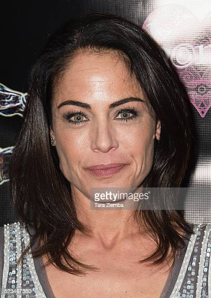 Actress Yancy Butler attends the 2nd Annual Artemis Film FestivalRed Carpet Opening Night/Awards Presentation at Ahrya Fine Arts Movie Theater on...