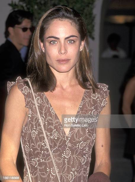 Actress Yancy Butler attends the CBS Summer TCA Press Tour on July 16 1997 at RitzCarlton Hotel in Pasadena California