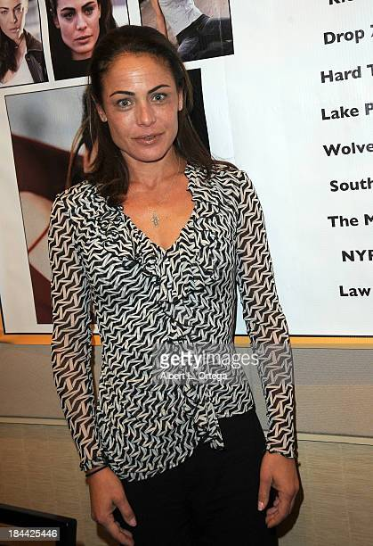 Actress Yancy Butler attends The Hollywood Show held at The Westin Los Angeles Airport Hotel on Saturday October 5 2013 in Los Angeles California