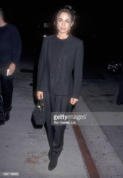 Actress Yancy Butler attends the 'Seven Years in Tibet' Century City Premiere on October 6 1997 at Cineplex Odeon Century Plaza Cinemas in Century...