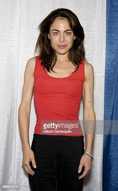 Actress Yancy Butler from Witchblade attends the Wizard World convention at the Pennsylvania Convention Center on June 19 2009 in Philadelphia...