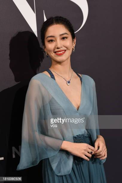 Actress Yang Caiyu attends 2021 Harper's Bazaar Icons Party on March 31, 2021 in Shanghai, China.
