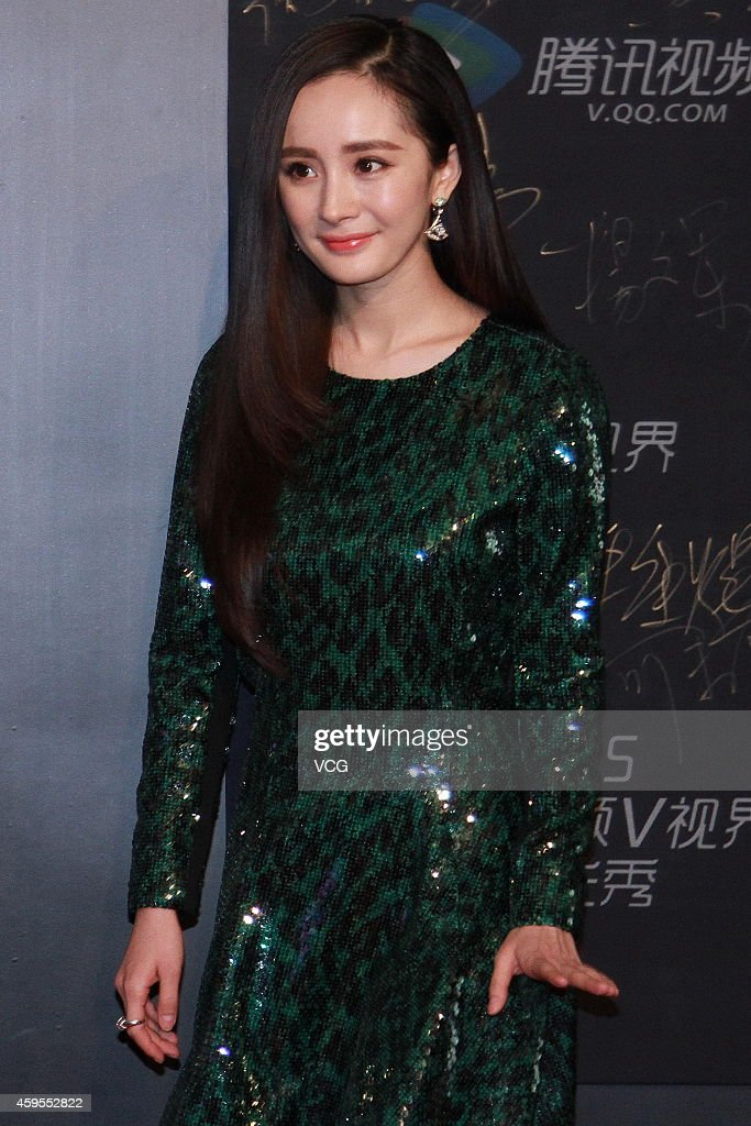Actress Yang Mi attends 2015 Star Awards Ceremony Of Tencent on November 25, 2014 in Beijing, China.
