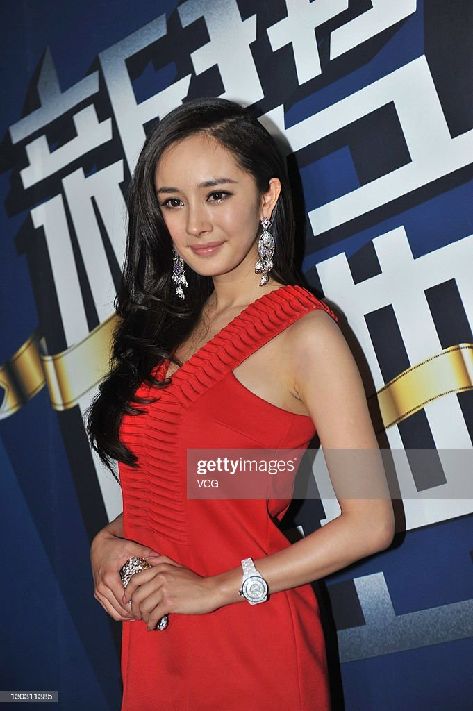 Actress Yang Mi attends the Grand Ceremony Of Movie And TV New Forces at new studio of Enlight Media on Ocotber 25, 2011 in Beijing, China.