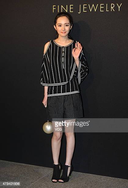 Actress Yang Mi attends the launch event of Chanel's Coco Crush jewelry on May 14 2015 in Beijing China