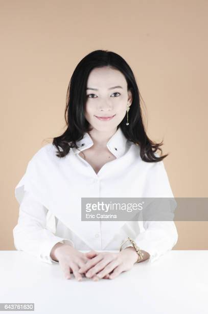 Actress Yao Yi Ti is photographed for Self Assignment on February 14 2017 in Berlin Germany