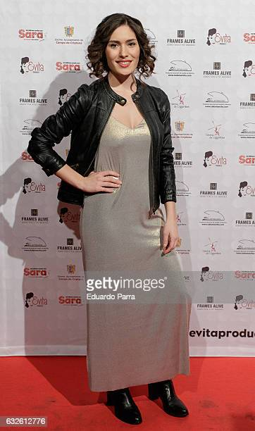 Actress Yara Puebla attends the 'Mi ultima noche con sara' photocall at Rialto theatre on January 24 2017 in Madrid Spain