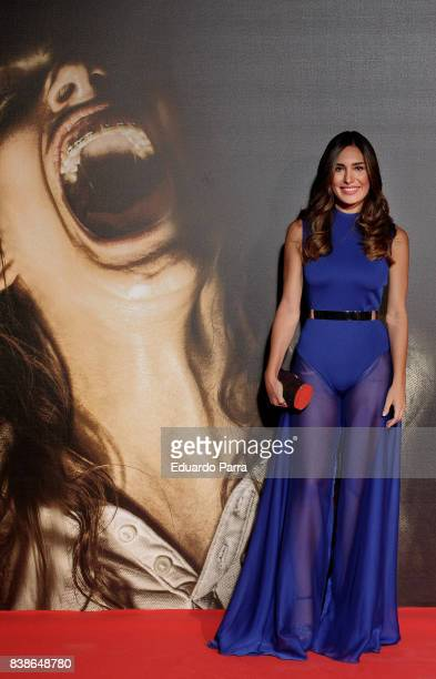 Actress Yara Puebla attends the 'Veronica' premiere at Kinepolis cinema on August 24 2017 in Madrid Spain