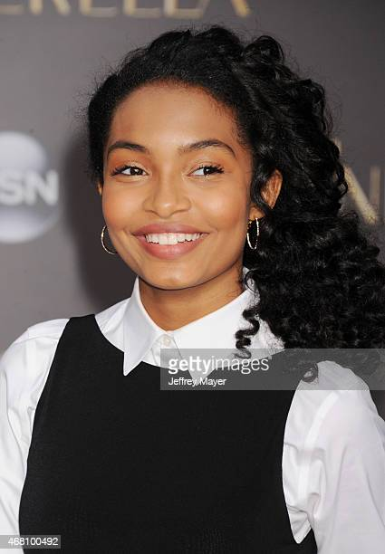 Actress Yara Shahidi arrives at the World Premiere of Disney's 'Cinderella' at the El Capitan Theatre on March 1, 2015 in Hollywood, California.