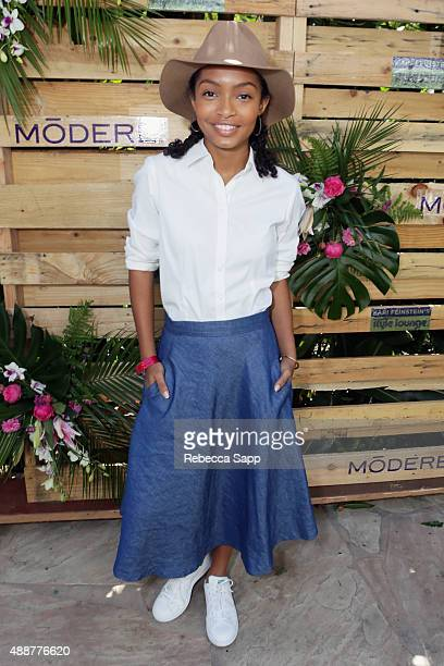 Actress Yara Shahidi attends Kari Feinstein's Style Lounge at Sunset Marquis Hotel & Villas on September 17, 2015 in West Hollywood, California.