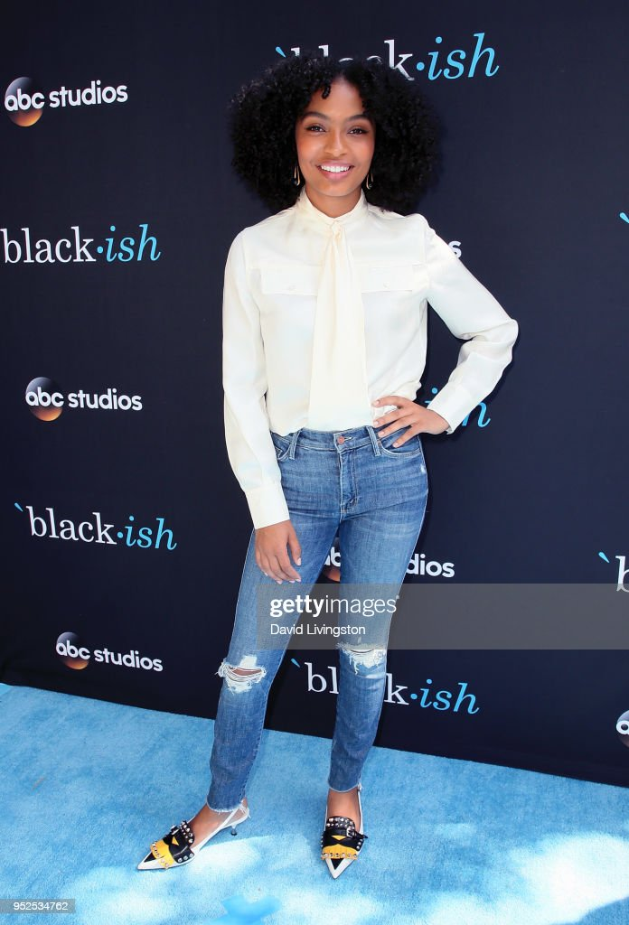Actress Yara Shahidi attends the FYC event for ABC's 'Blackish' at Walt Disney Studios on April 28, 2018 in Burbank, California.