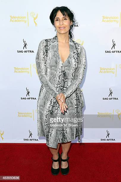 Actress Yareli Arizmendi attends the Television Academy and SAGAFTRA Presents Dynamic Diverse A 66th Emmy Awards Celebration of Diversity at the...