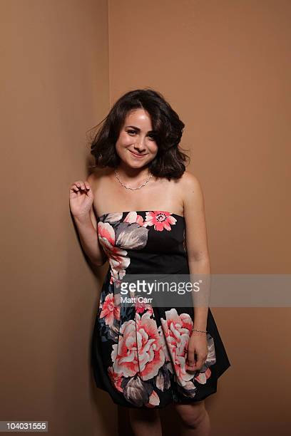 Actress Yasmin Paige from 'Submarine' poses for a portrait during the 2010 Toronto International Film Festival in Guess Portrait Studio at Hyatt...
