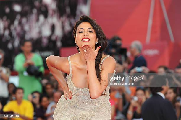 Actress Yasmine Al Masri attends the Miral premiere at the Palazzo del Cinema during the 67th International Venice Film Festival on September 22010...