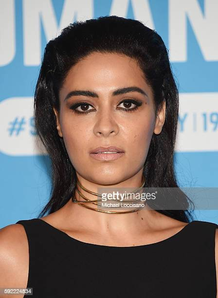 Actress Yasmine Al Massri attends 2016 World Humanitarian Day One Humanity Event at the United Nations on August 19 2016 in New York City