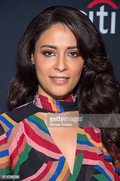Actress Yasmine al Massri attends PaleyFest New York 2016 presents Quantico at The Paley Center for Media on October 17 2016 in New York City
