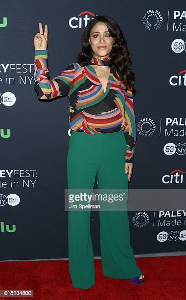 Actress Yasmine Al Massri attends PaleyFest New York 2016 Quantico at The Paley Center for Media on October 17 2016 in New York City