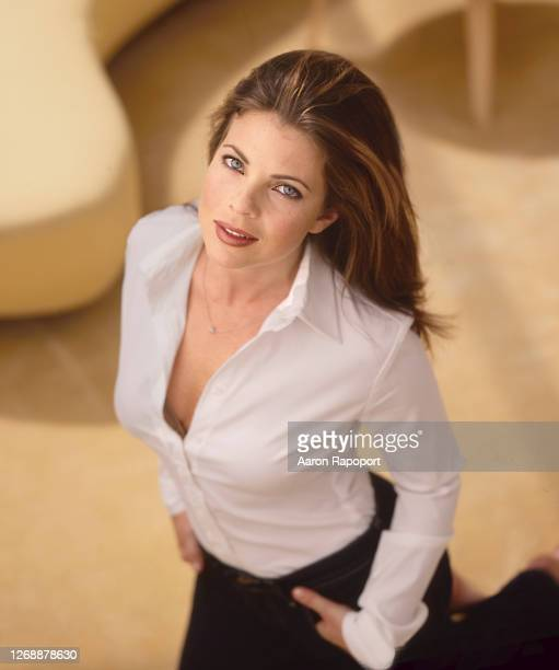 Actress Yasmine Bleeth photo session in Los Angeles, California