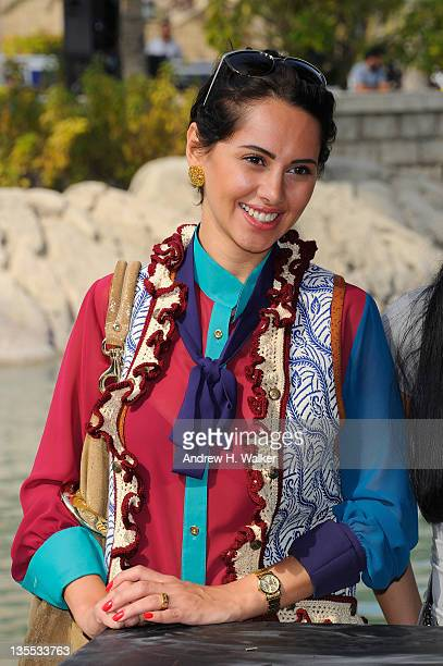 Actress Yasmine Raees attends the A Whole One photocall during day six of the 8th Annual Dubai International Film Festival held at the Madinat...