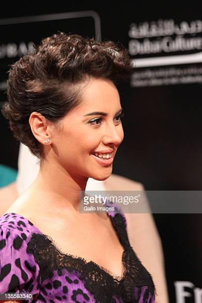 Actress Yasmine Raees attends the 'A Whole One premier during the 2011 Dubai International Film Festival Day Five on Decemeber 11 2011 in Dubai