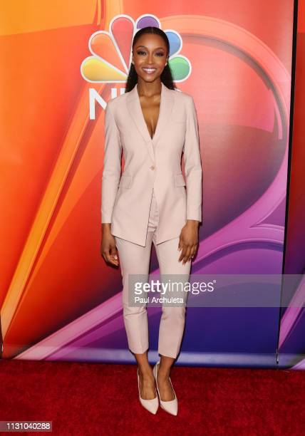 Actress Yaya DaCosta attends the NBC's Los Angeles midseason press junket at NBC Universal Lot on February 20 2019 in Universal City California