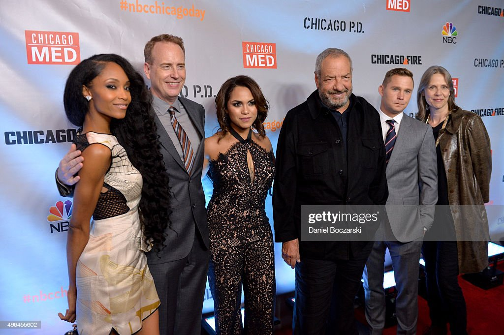 NBC's 'Chicago Fire', 'Chicago P.D.' And 'Chicago Med' - Premiere : News Photo