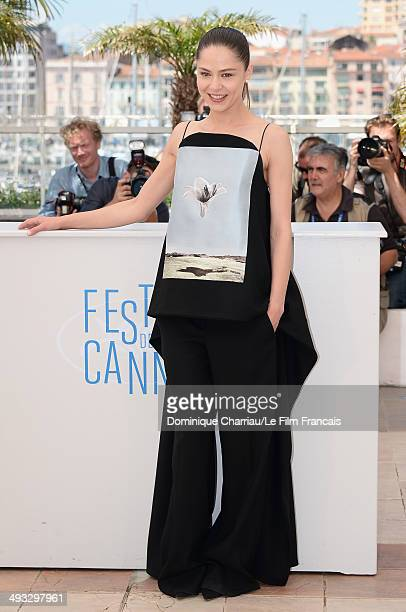 Actress Yelena Lyadova attends the 'Leviathan' photocall at the 67th Annual Cannes Film Festival on May 23 2014 in Cannes France