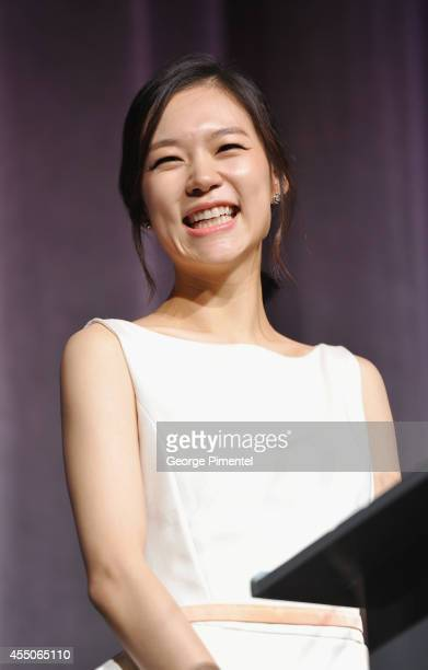 Actress Yeri Han attends the Haemoo premiere during the 2014 Toronto International Film Festival at Roy Thomson Hall on September 9 2014 in Toronto...