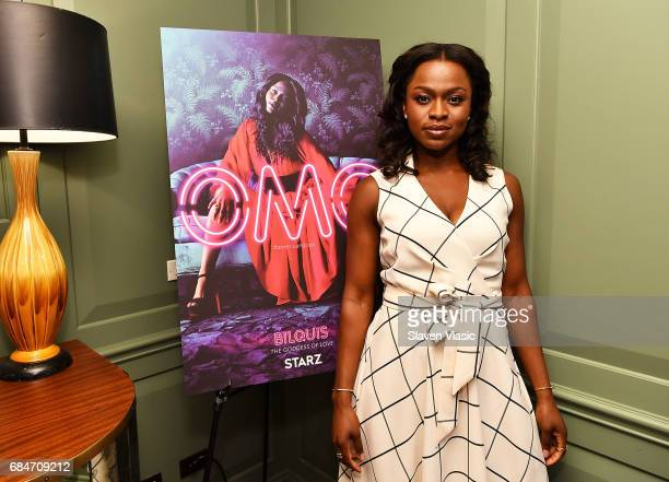 Actress Yetide Badaki attends 'American Gods' Junket Mixer at Soho House on May 18 2017 in New York City