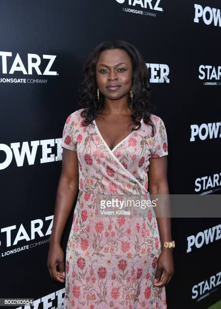 Actress Yetide Badaki attends STARZ 'Power' Season 4 LA Screening And Party at The London West Hollywood on June 23 2017 in West Hollywood California