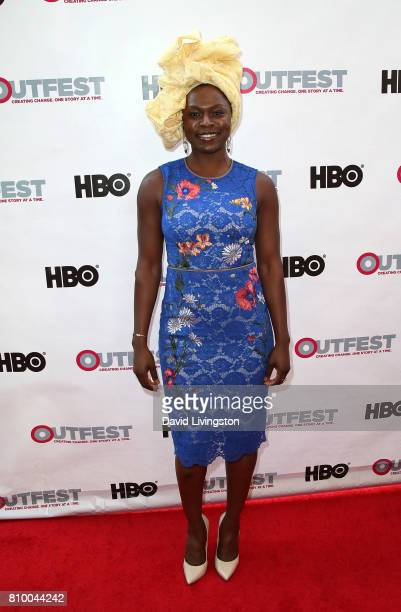 Actress Yetide Badaki attends the 2017 Outfest Los Angeles LGBT Film Festival Opening Night Gala of 'God's Own Country' at the Orpheum Theatre on...