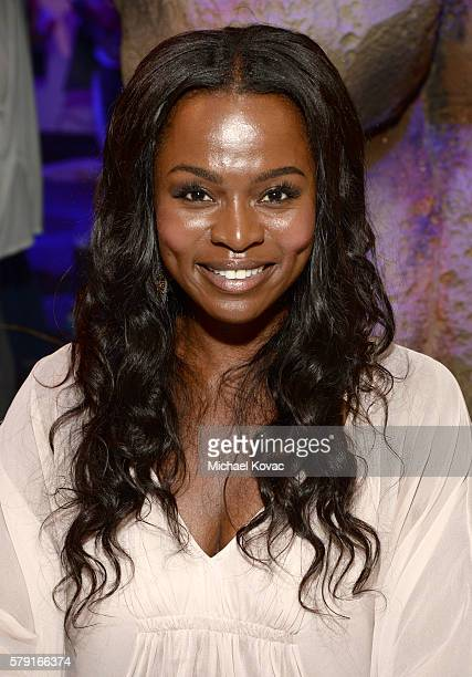 Actress Yetide Badaki attends the 'American Gods' autograph signing during ComicCon International at San Diego Convention Center on July 22 2016 in...