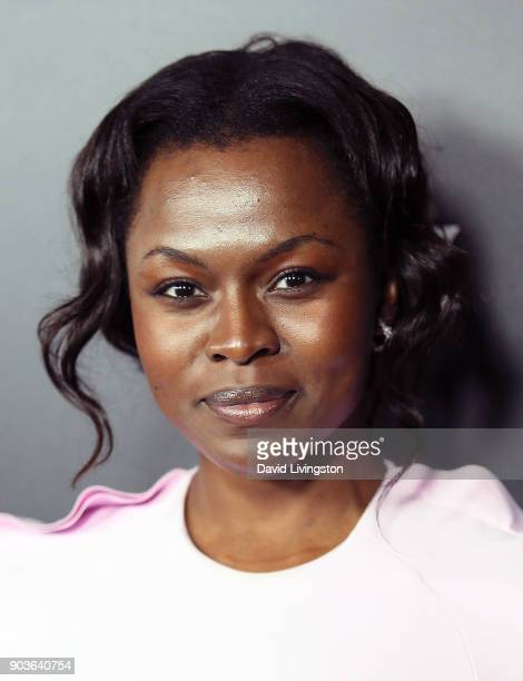 Actress Yetide Badaki attends the premiere of Starz's 'Counterpart' at the Directors Guild of America on January 10 2018 in Los Angeles California