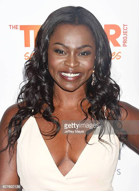 Actress Yetide Badaki attends the TrevorLIVE Los Angeles 2016 Fundraiser at the Beverly Hilton Hotel on December 04 2016 in Beverly Hills California