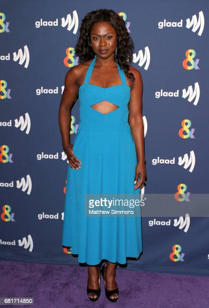 Actress Yetide Bakadi attends STARZ's Presents A Special Screening Of 'American Gods' In Partnership With GLAAD at The Paley Center for Media on May...