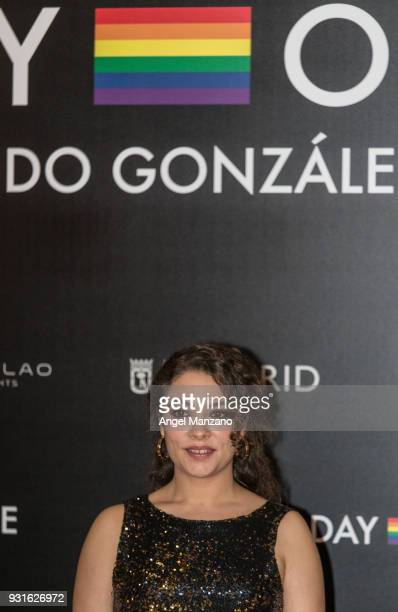 Actress Yohana Cobo attends 'The Best Day Of My Life' Madrid premiere at Callao cinema on March 13 2018 in Madrid Spain