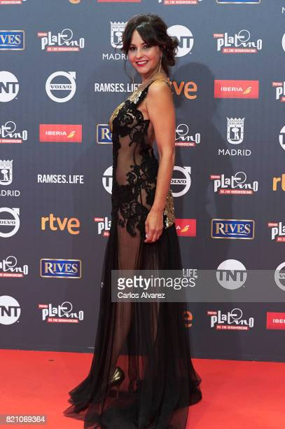 Actress Yoima Valdes attends the Platino Awards 2017 photocall at the La Caja Magica on July 22 2017 in Madrid Spain