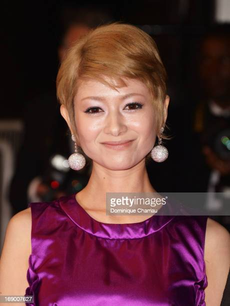 Actress Yoko Maki attends the Premiere of 'Soshite Chichi Ni Naru' at Palais des Festivals during The 66th Annual Cannes Film Festival on May 18,...