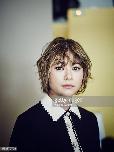 Actress Yoko Maki is photographed for Self Assignment on May 18 2016 in Cannes France