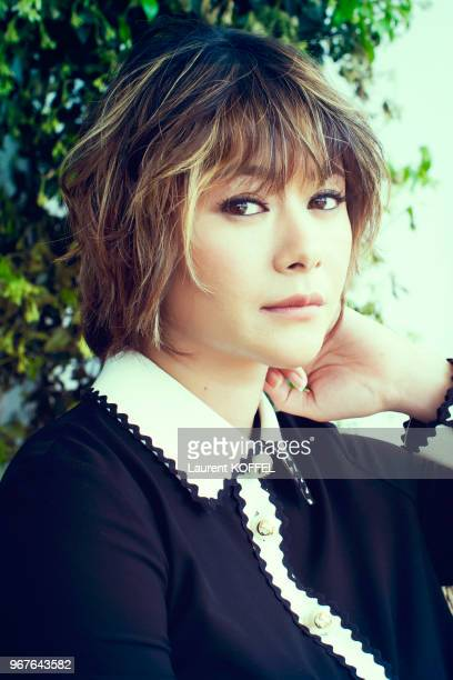 Actress Yoko Maki poses during a portrait session on May 18 2016 in Cannes France