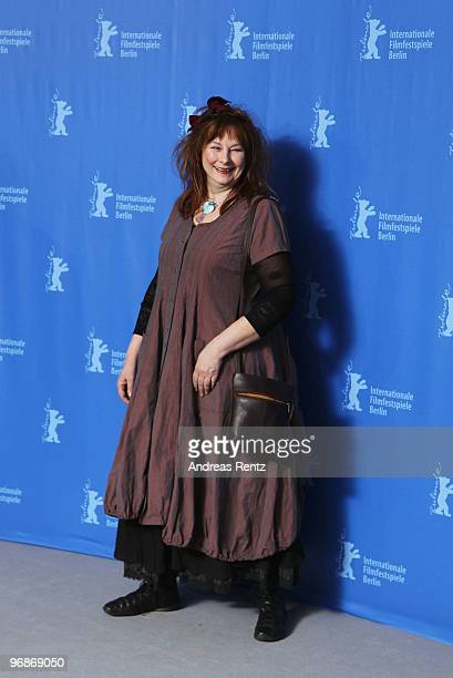 Actress Yolande Moreau attends the 'Mammuth' Photocall during day nine of the 60th Berlin International Film Festival at the Grand Hyatt Hotel on...
