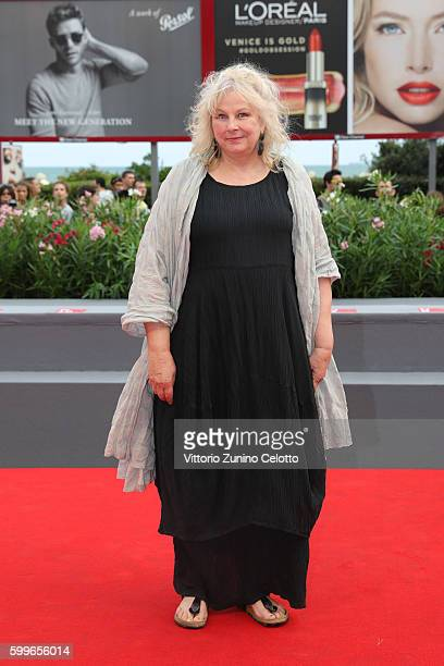 Actress Yolande Moreau attends the premiere of 'A Woman's Life' during the 73rd Venice Film Festival at Sala Grande on September 6 2016 in Venice...