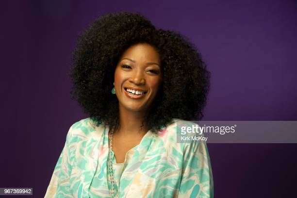 Actress Yolonda Ross is photographed for Los Angeles Times on May 9 2018 in Los Angeles California PUBLISHED IMAGE CREDIT MUST READ Kirk McKoy/Los...