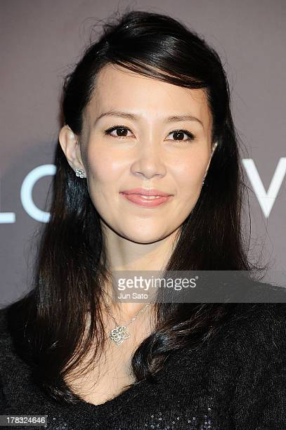 "Actress Yoshino Kimura attends Louis Vuitton ""Timeless Muses"" exhibition at the Tokyo Station Hotel on August 29, 2013 in Tokyo, Japan."