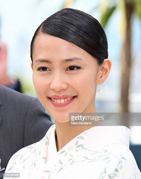 "Actress Yoshino Kimura attends the ""Blindness"" photocall during the 61st Cannes International Film Festival on May 14, 2008 in Cannes, France."
