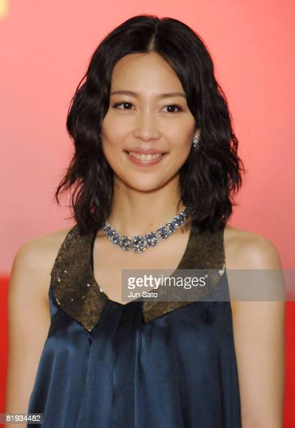 "Actress Yoshino Kimura attends the ""Kung Fu Panda"" Japan Premiere at Shinjuku Piccadilly on July 14, 2008 in Tokyo, Japan. The film will open on July..."