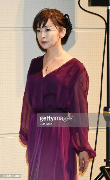 Actress Yuki Saito attends the 32nd Japan Best Jewellery Wearer Awards at Tokyo Big Sight on January 14, 2021 in Tokyo, Japan.