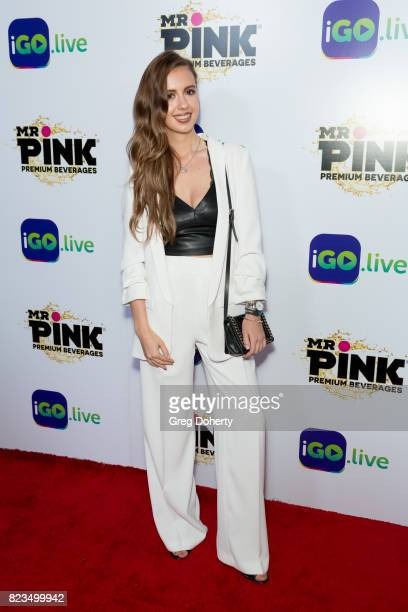 Actress Yulia Trailer arrives for the iGolive Launch Event at the Beverly Wilshire Four Seasons Hotel on July 26 2017 in Beverly Hills California