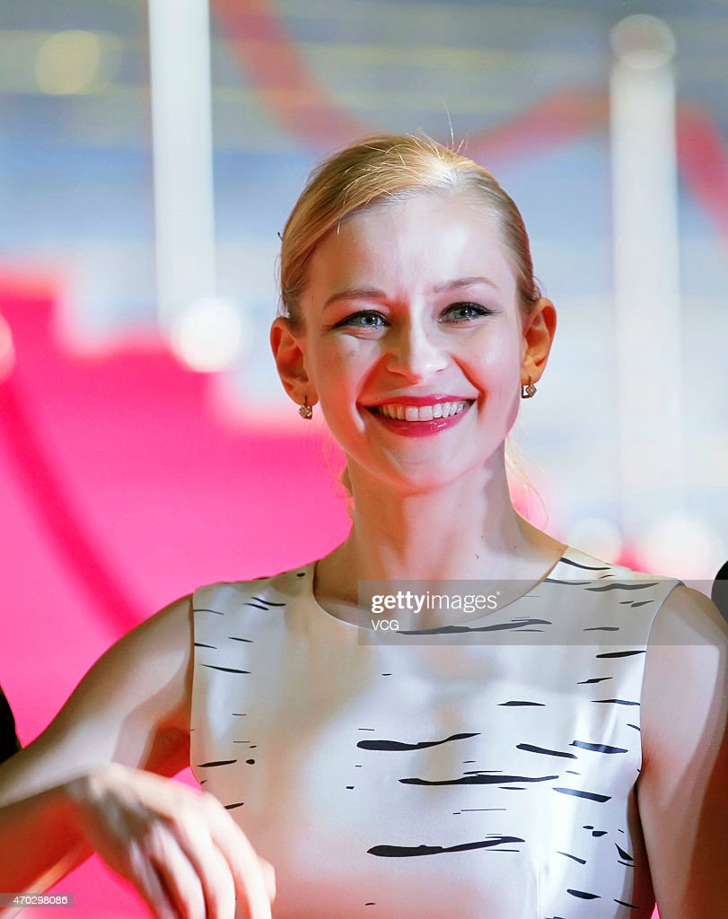 Actress Yuliya Peresild attends the 5th Beijing International Film Festival on April 18, 2015 in Beijing, China.